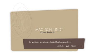 Max Schlundt Kultur Technik