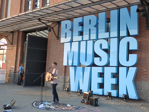 Berlin Music Week 2014 Redvers Bailey