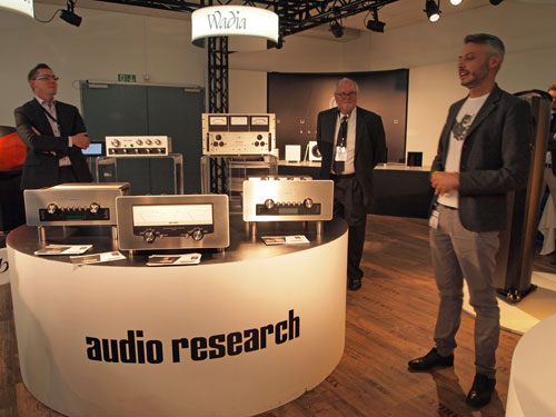 Audio Research G-Serie und Terry Dorn