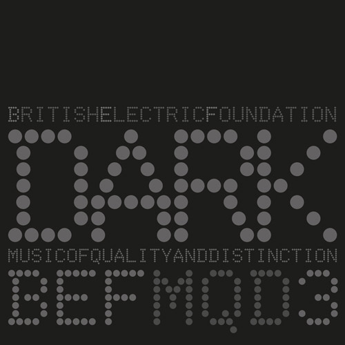 British Electric Foundation | Music of Quality & Distinction Vol. 3 – Dark I Cover