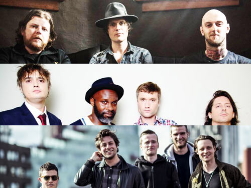 The Libertins | The Maccabees | The Fratellis