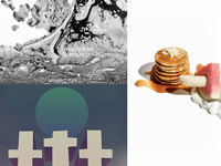Battles - La Di Da Di | Three Trapped Tigers - Silent Earthling | Radiohead - A Moon Shaped Pool