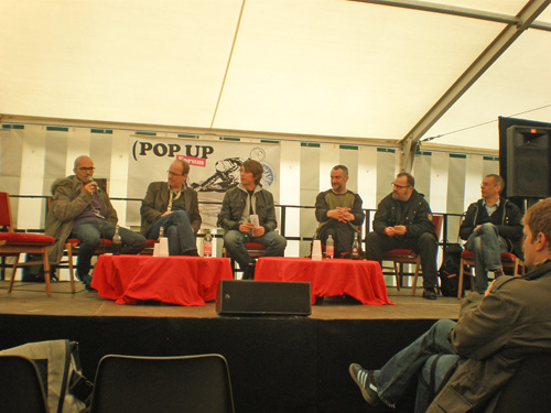 panels auf der pop up
