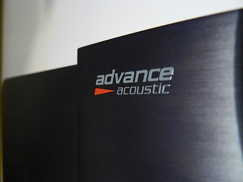 advance acoustic verstärker cd-player