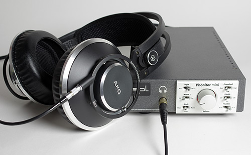 AKG K872 am SPL Phonitor mini