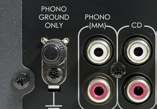 Phonoeingang des Arcam