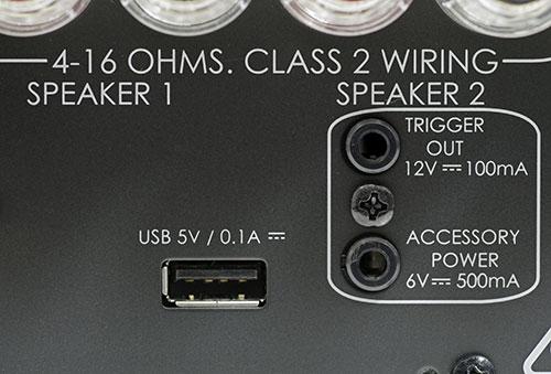 USB-Buchse für Software-Aktualisierungen