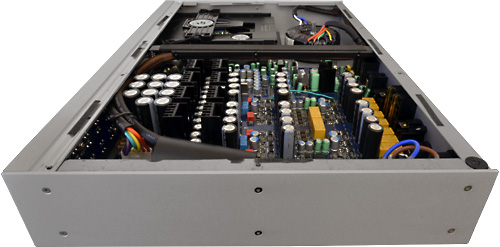 Audiolab 8200CDQ - Innenansicht
