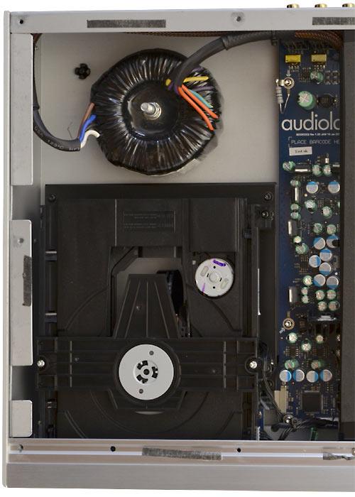 Laufwerk des Audiolab 8200CDQ