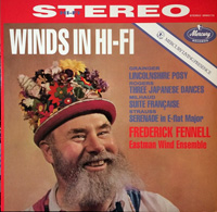 Frederick Fenell/ Eastman Wind Ensemble, Winds in Hifi, Mercury SR90173