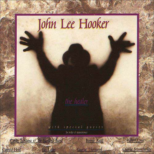 John Lee Hookers Album The Healer