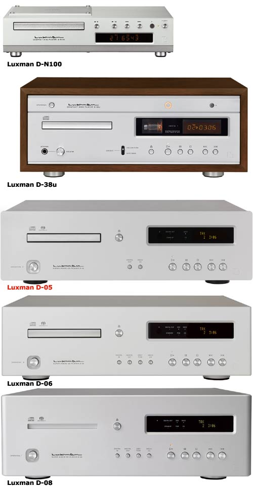 Luxman CD/SACD-Player