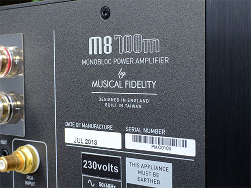 Musical Fidelity M8 700m