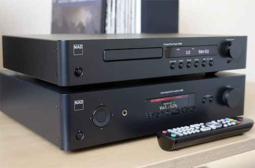 Der NAD C 368 mit passendem CD-Player C 568