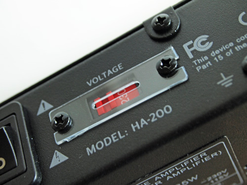 NuForce HA-200
