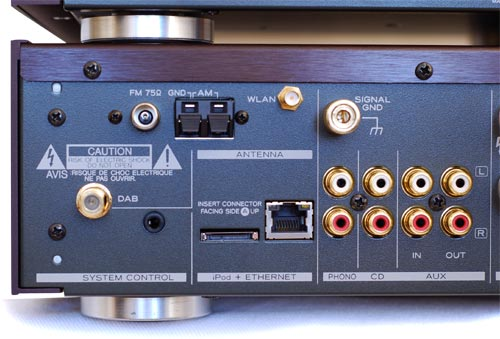 Anschlusse Teac Receiver