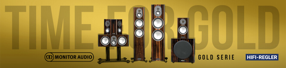 HiFi Regler - Monitor Audio Gold