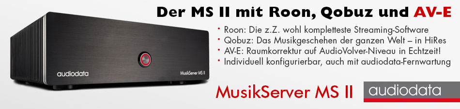 Audiodata MusikServer MSII