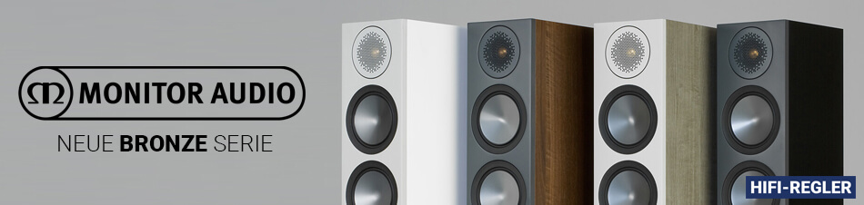 HiFi Regler - Monitor Audio Bronze
