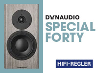 HiFi Regler: Dynaudio Special Forty