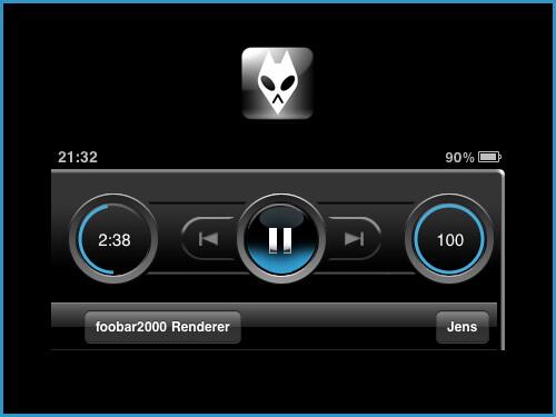 Fernsteuerung von Foobar2000