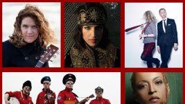 max raabe, meike köster, regina spektor, joan as police woman, cosmonautix, slagr, cassandra wilson