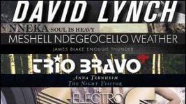 meshell ndegeocello, trio bravo +, david lynch, james blake, nneka, florence and the machine, anna ternheim, va - electro swing revolution vol. 2