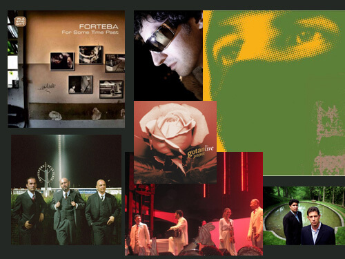 the gotan project, thievery corporation, forteba