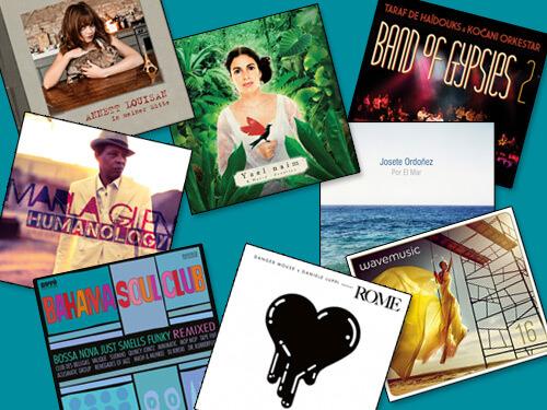 va - bossa nova just smells funky, yael naim & david donatien, danger mouse & daniele luppi, va - wave music vol. 16, josete ordoñez, annett louisan, taraf de haïdouks & kocani orkestar, marla glen