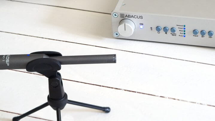 Abacus AroioSU Streamer mit Acourate-Raumkorrektur