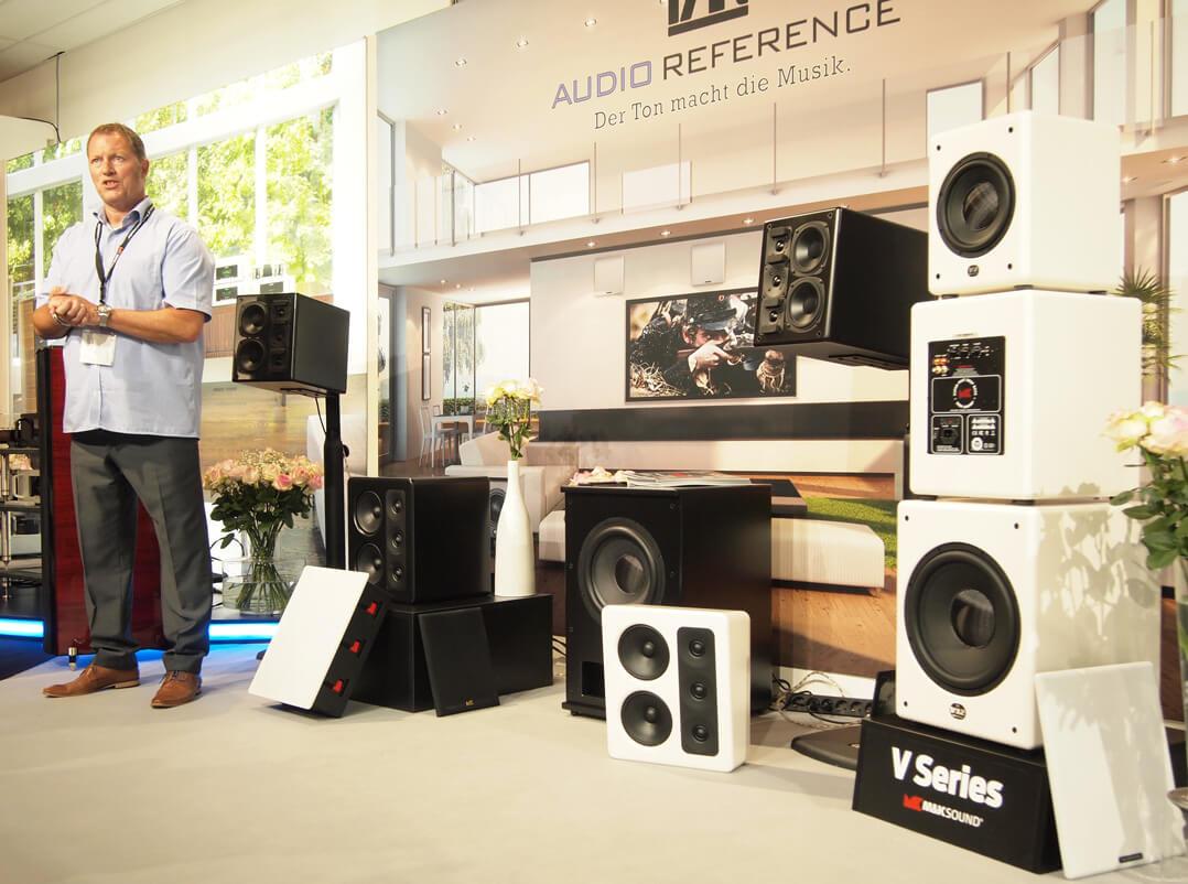 Lars Johannsen, 2510P Stereolautsprecher, Subwoofer X12 von M&K Sound
