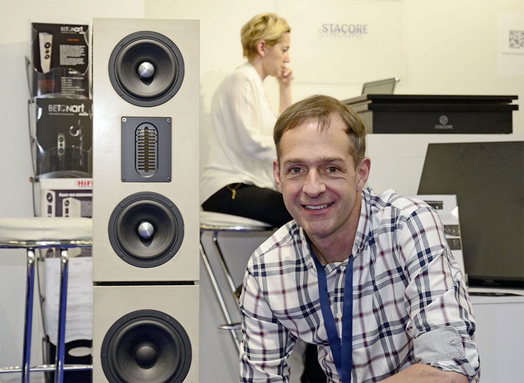 Jörg Wähdel von Betonart Audio