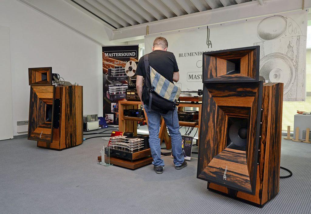 Im Raum von Blumenhofer Acoustics spielte die neue Gran Gioia MKII