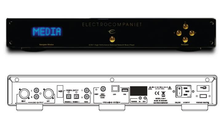Electrocompaniet ECM 1 Streamer / DAC