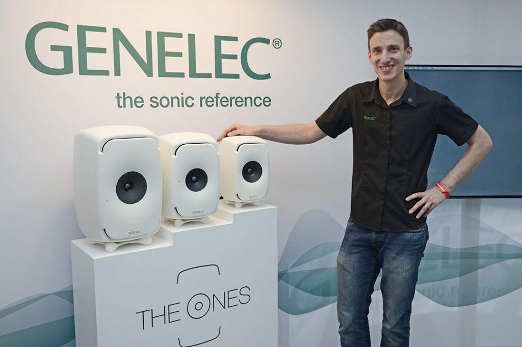 Marcel Schechter vom deutschen Genelec-Vertrieb Audio Export
