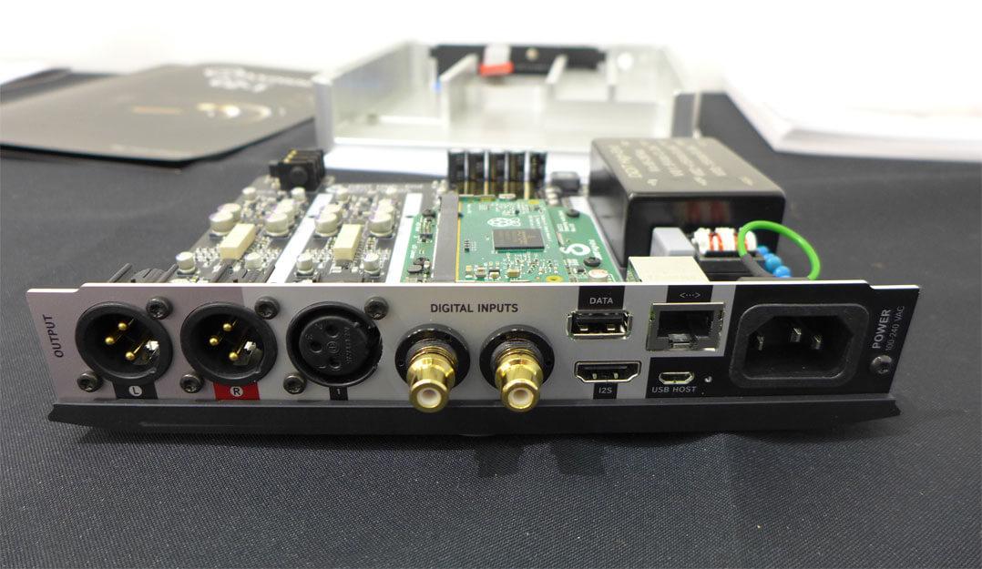Die Internals des DiDiT DAC212SE inkl. Streamingmodul
