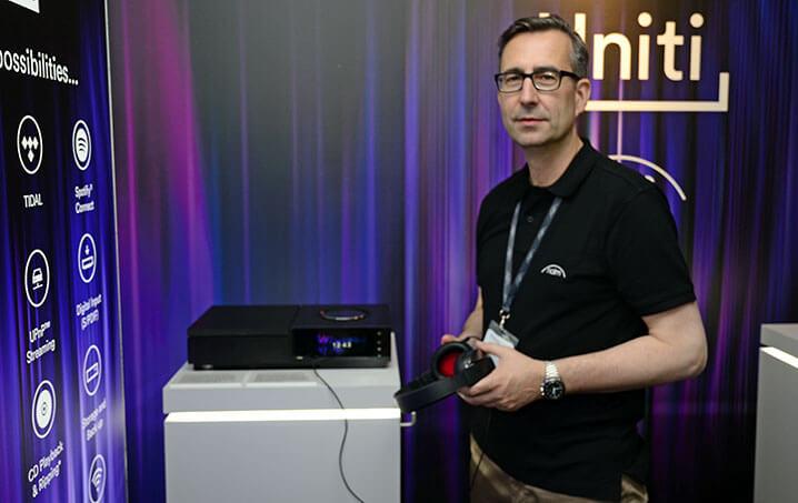 thomas Kunzler von Music Line präsentierte in München Naims neue Uniti-Serie
