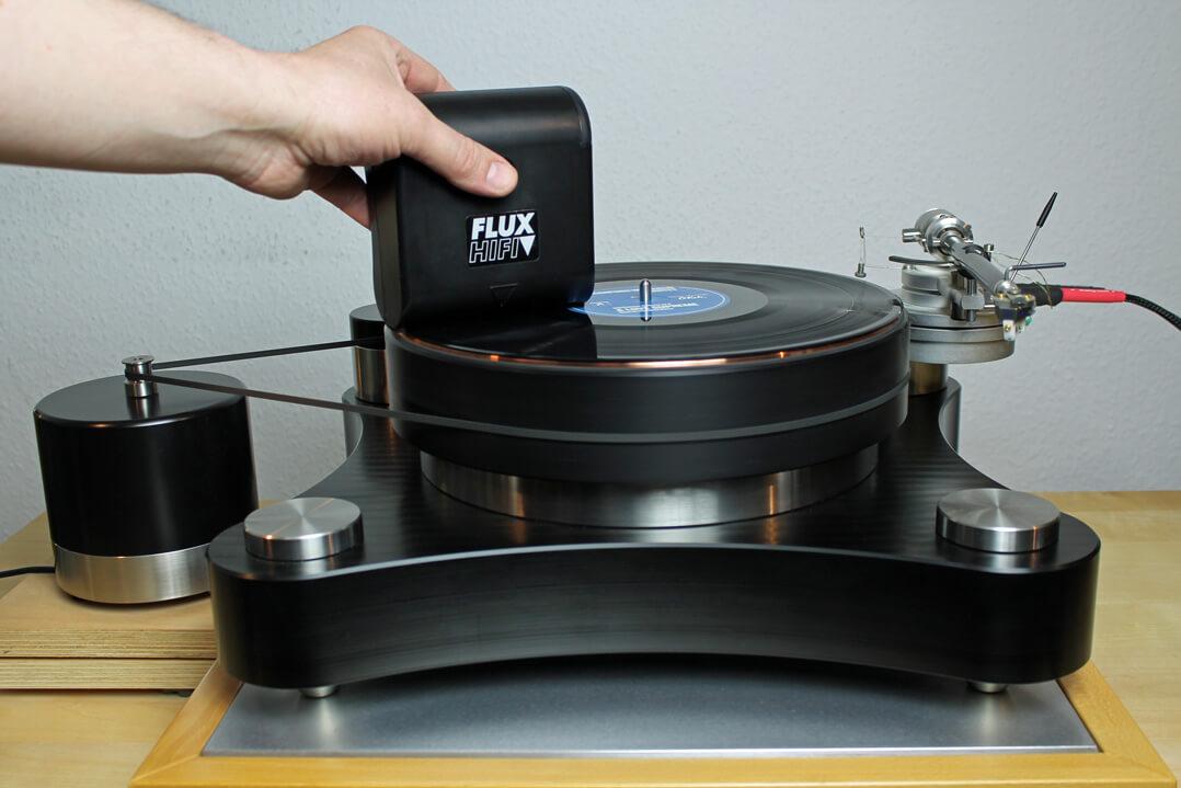 Flux-Plattensauger im Einsatz