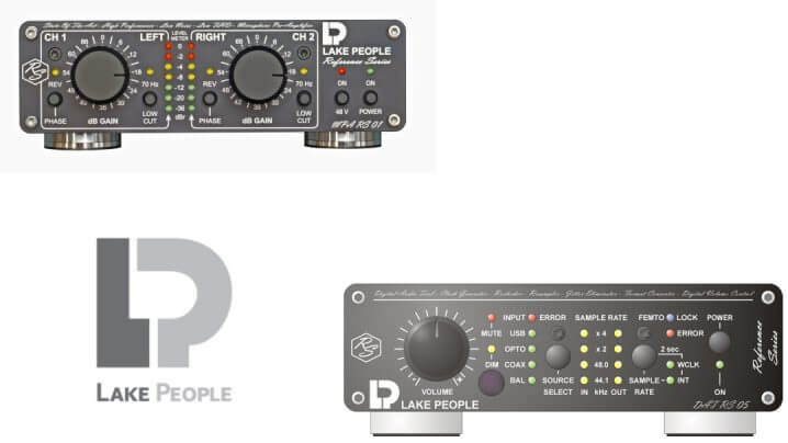 Lake People Reference Series DAT RS 05 Reclocker und Formatkonverter