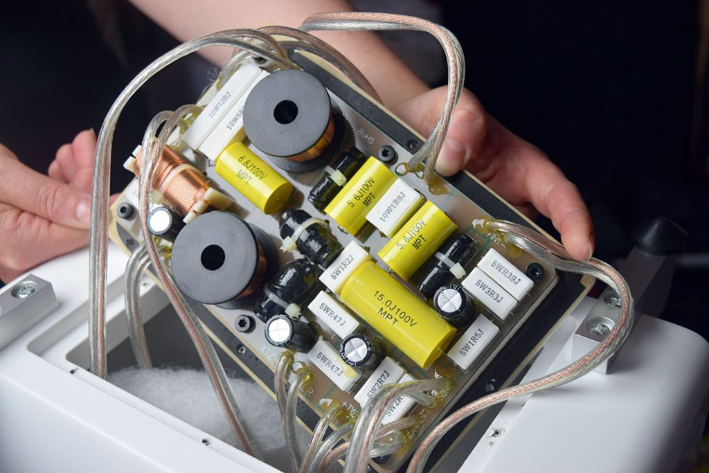 Die Frequenzweiche der XTZ 99,36 MK3 FLR