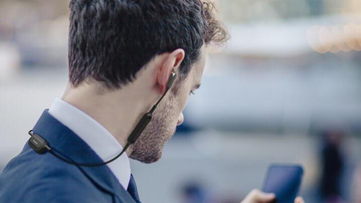 Panasonic RP-NJ300B Bluetooth-Kopfhörer