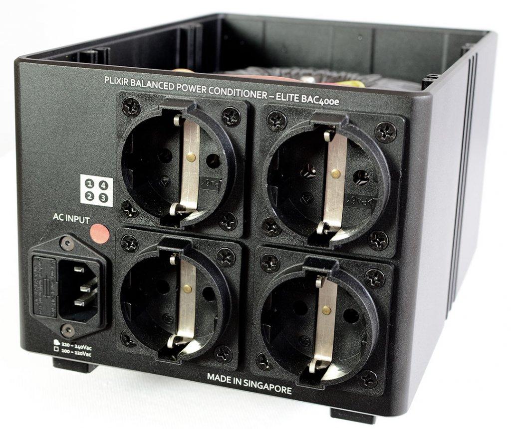 Der Plixir BAC 400 besitzt vier Outlets