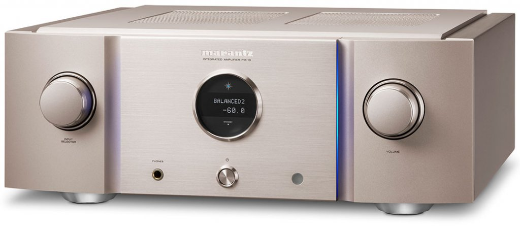Marantz PM-10 in Silber-Gold