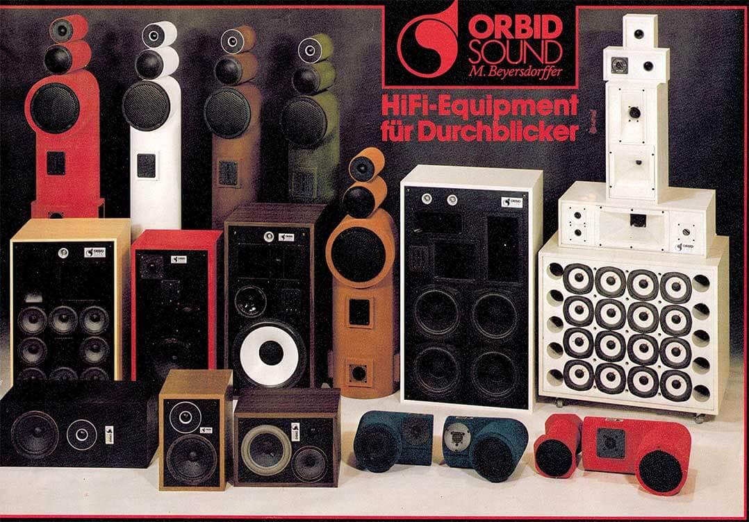 Orbid-Sound-Programm anno 1982