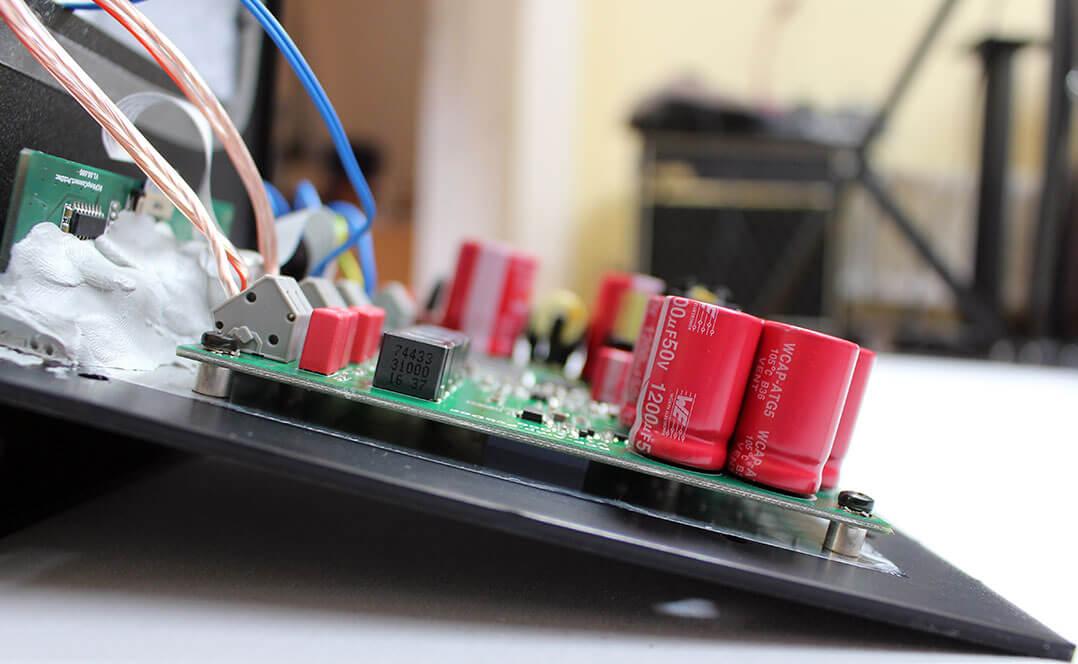 Die Elektronik im Innern der KSdigital C5