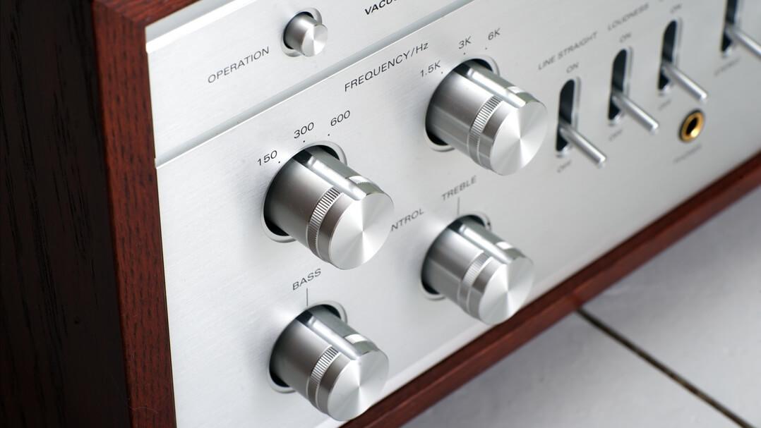 Die ausgeklügelte Klangregelung des Luxman LX-380