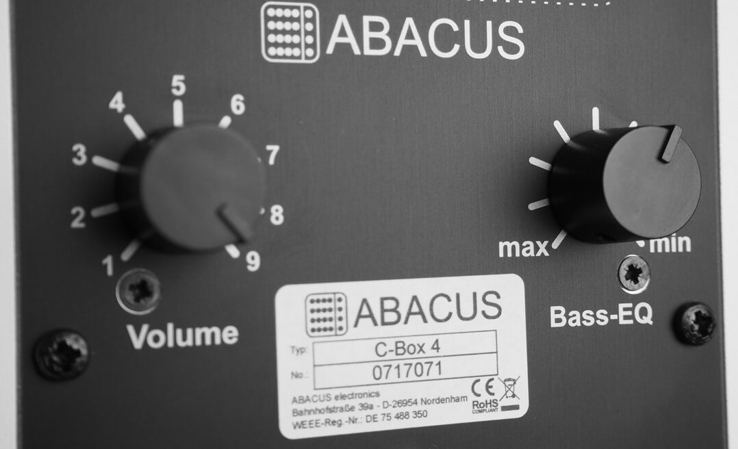 Abacus C-Box 4 Lautstärke- und Bassregler