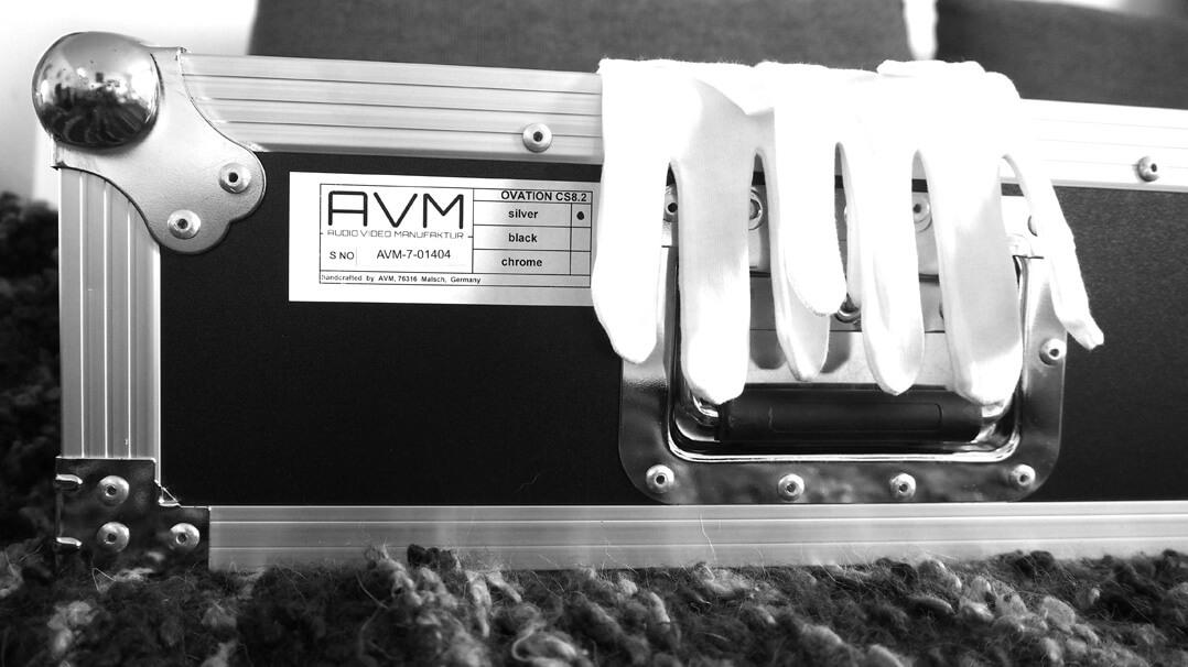 AVM Ovation CS 8.2 Lieferung mit Flightcase