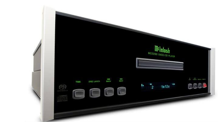 McIntosh MCD 350 AC CD SACD Spieler