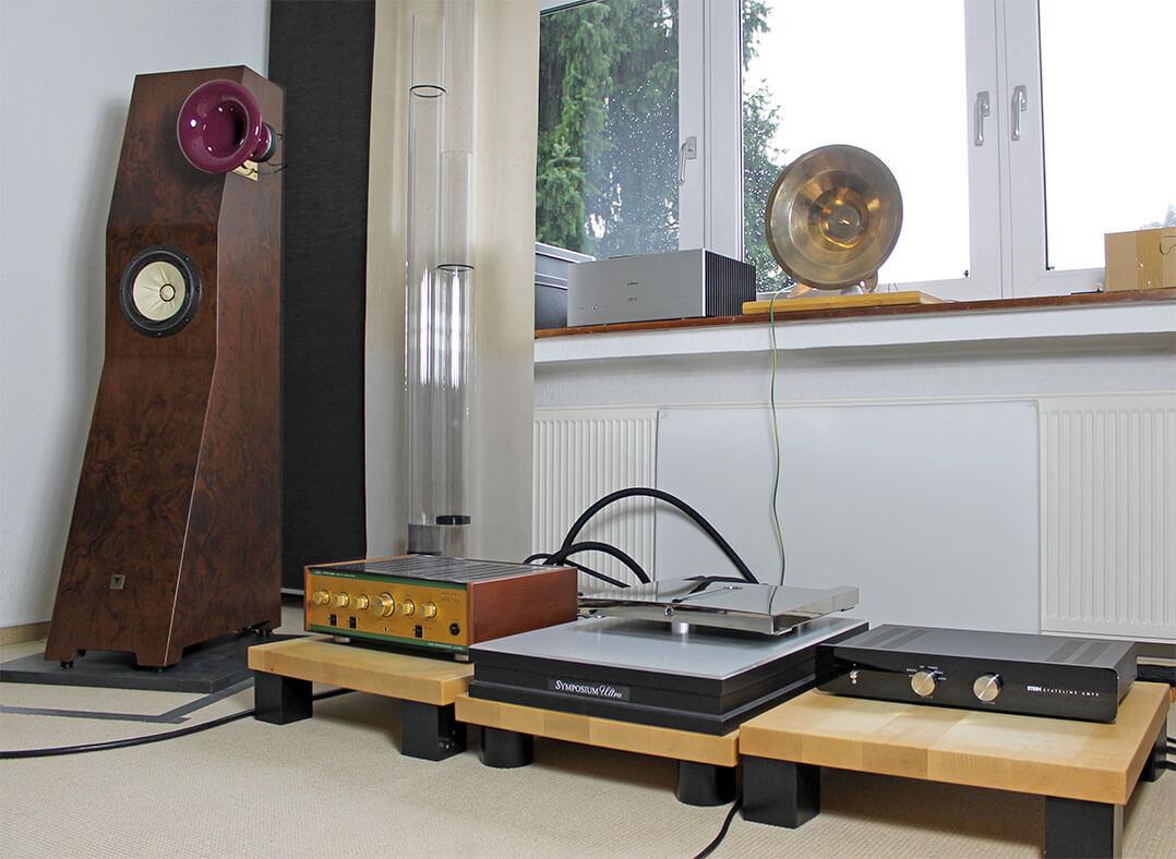 Die Tune Audio Marvel im Hörraum